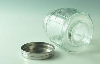 680ml Glass Mason Jars Food Containers Storage Jars With Metal Lid