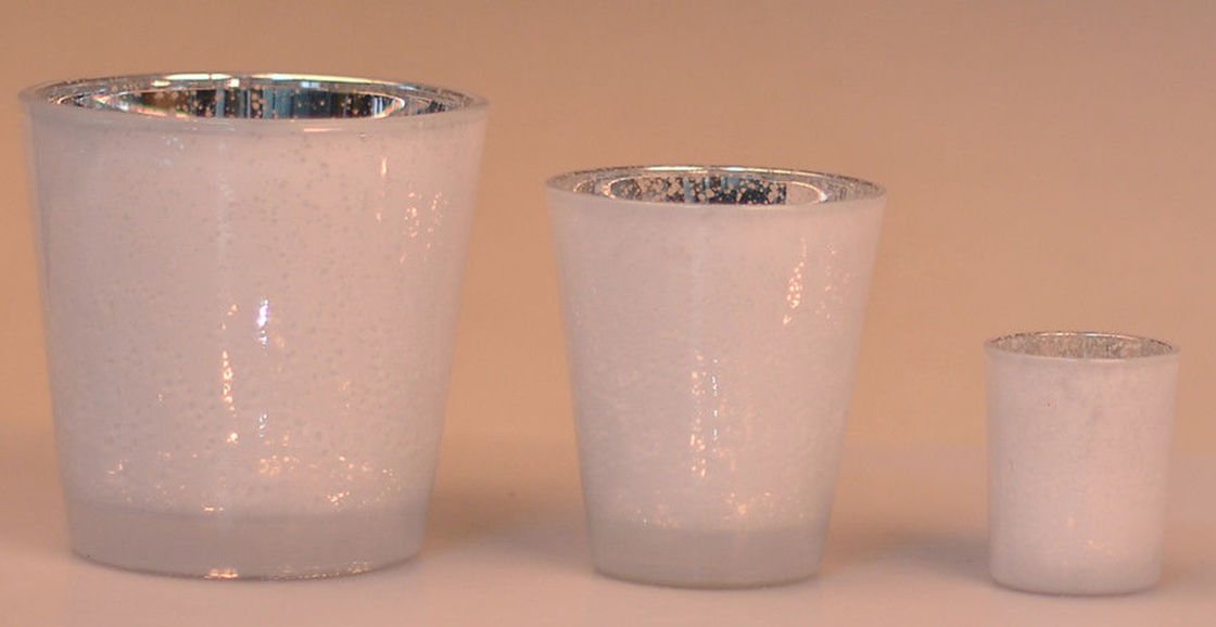 China Home Interiors Clear Glass Votive Candle Holders Tall Lead Free  Supplier