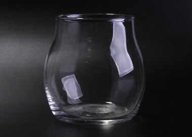 Modern Handmade High White Glassware Tumbler , Water Glass Drinking Cup